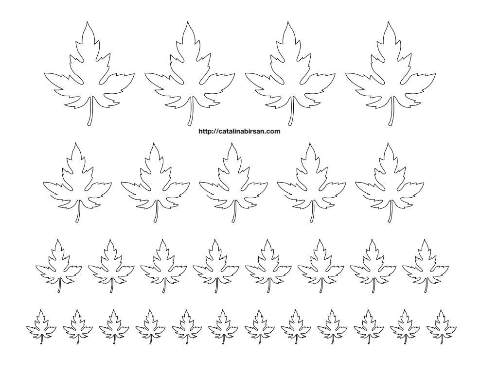 Sabloane Pentru Flori Frunze Iarba Si Pomi 18 Modelepe O